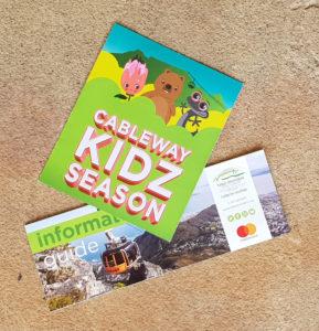 Table Mountain Cableway Kidz Season Brochure