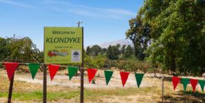 Klondyke Cherry Farm Entrance