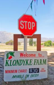 Klondyke Farm Entrance