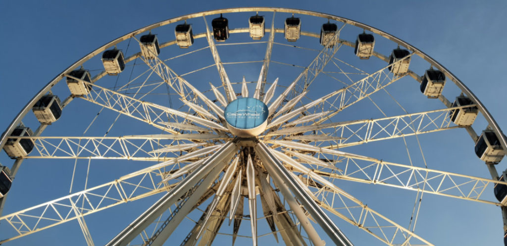 The Cape Wheel, kids activities at the V&A Waterfront.