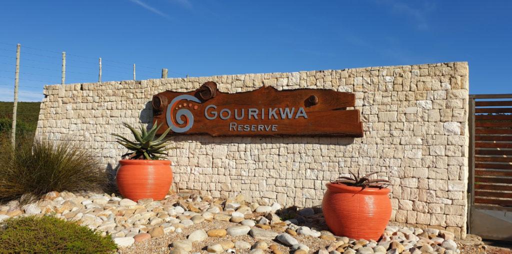 Gourikwa Reserve Gate Entrance