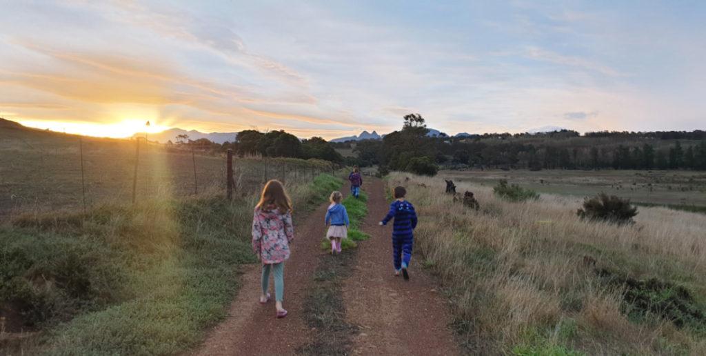 Family Walk Gloria Farm