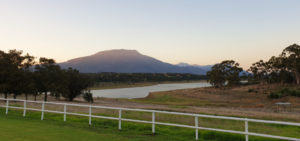 View of Theewaterskloof Dam from Gloria Farm Manor House