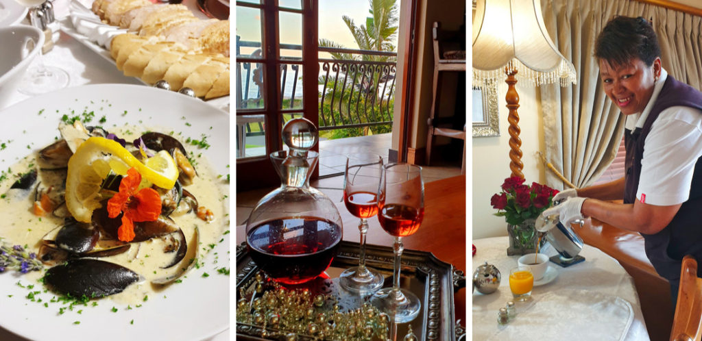Beautiful personal touches at Whaler's Point Guesthouse in Kleinmond