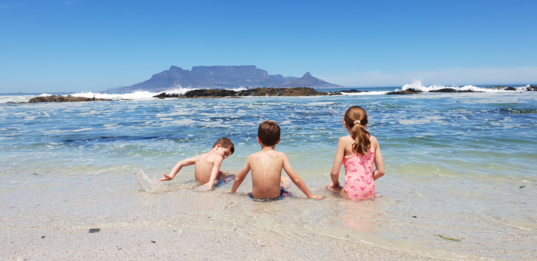 Blouberg beach with views of Table Mountain