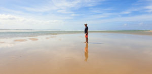 Stilbaai Beach at low tide, Garden Route